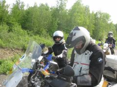 Pat Et Chris The Bouc Rallye 2012