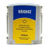 Compatible HP 10 C4842A Yellow Ink Cartridge