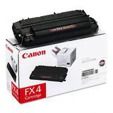 Canon FX-4 Original Black Toner Cartridge (1558A002AA)