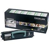 Lexmark 34015HA Original Black Rerturn Program Toner Cartrdge High Yield