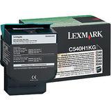 Lexmark C540H1KG Original High Yield Black Return Program Toner Cartridge
