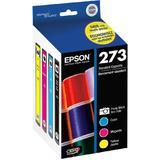 Epson T273520 Claria Premium Original Color Ink Cartridges Combo Pack (PBK/C/M/Y)