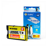 Lexmark 14L0200 B Version New Compatible Yellow Ink Cartridge - G&G™(14L0653/14L0177)