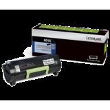Lexmark 60F1X00 (601X) Original Extra High-Yield Black Return Program Laser Toner Cartridge