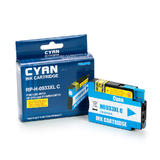 Remanufactured ( Compatible ) HP 933XL CN054AN Cyan Ink Cartridge High-Yield