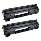 Compatible HP 83A CF283A Black Toner Cartridge - Economical White Box