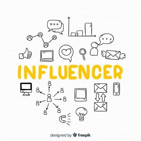Influencer graphic