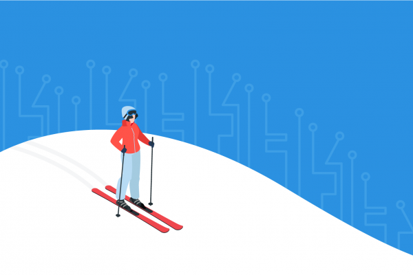 Ski digital header FR