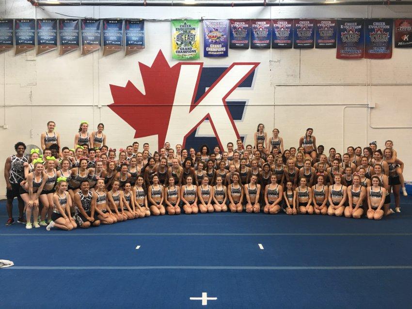 Power Cheer Toronto Group Shot