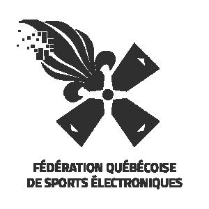 Fédération québécoise de sports électroniques logo