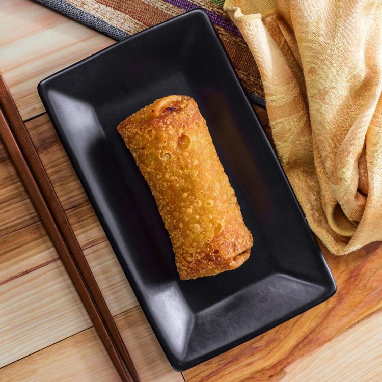 Egg roll végé, sauce aigre-douce à la mangue