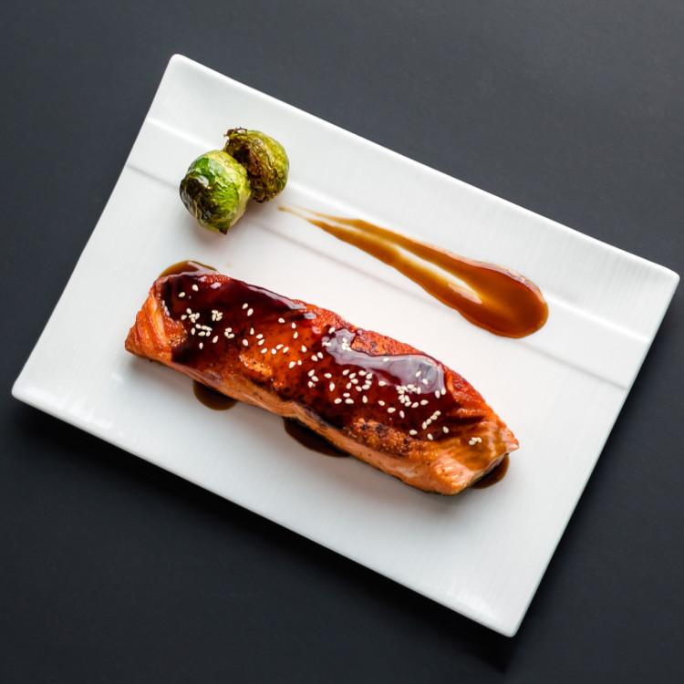 Pavés de saumon teriyaki