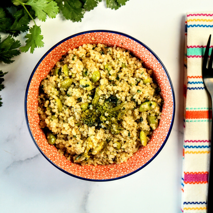 Quinoa citronné aux légumes