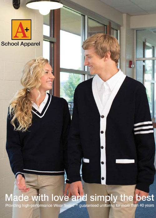 A+ School Apparel Catalog