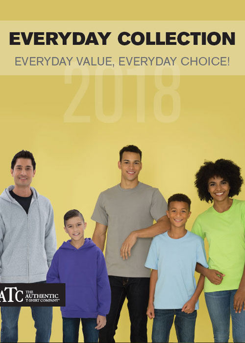 The Authentic T-Shirt Company Catalog