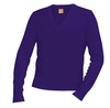 Classic V-Neck Long Sleeve Pullover thumbnail