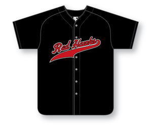 Button Front Baseball Jersey