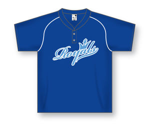 Button Pullover Baseball Jersey