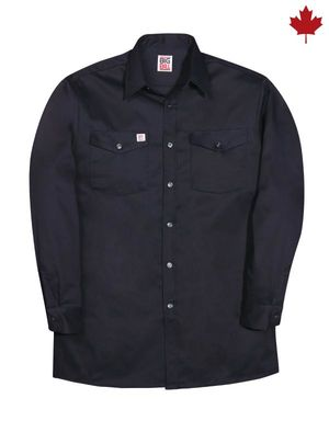 Long Sleeve Cotton Work Shirt