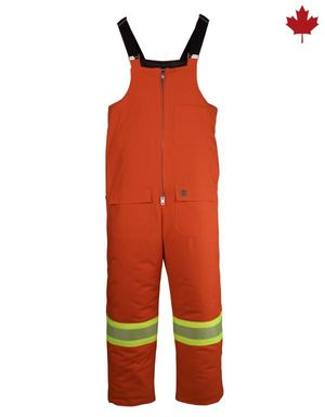 Bib Overall with Reflective Material