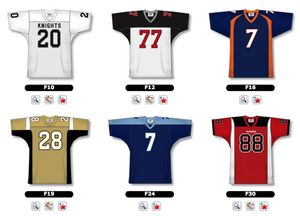 Football Jersey Selection 1