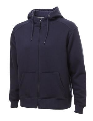 Fleece Full Zip Up Hoodie