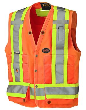 Hi Viz Surveyor's Safety Vest