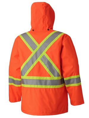 High Visibility Waterproof Jacket