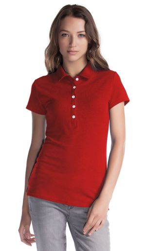 Ladies Bamboo Polo