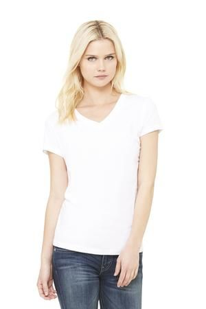Ladies V-Neck Jersey T-Shirt
