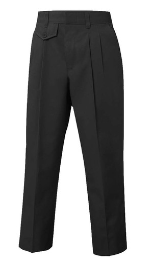 Pleated Slacks