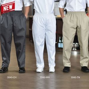 Poly/Cotton Baggy Chef Pants