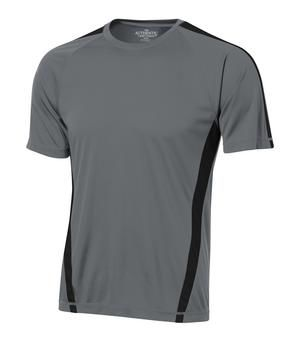 Polyester Two-Tone T-Shirt