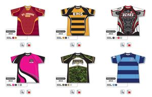 Rugby Jersey Selection 2