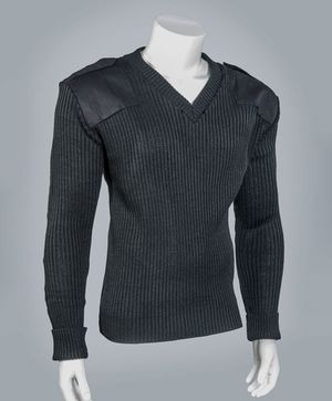V-Neck Commando Sweater