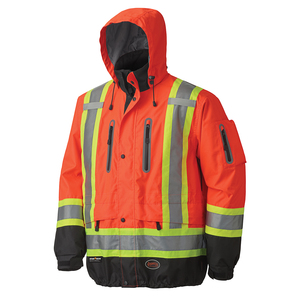 Waterproof/Breathable Premium Hi Viz Jacket