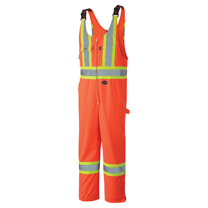 Hi Viz Safety Poly/Cotton Overall