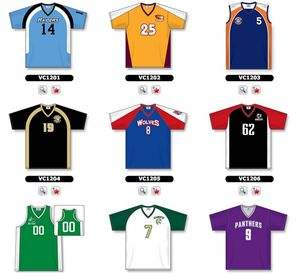 Volleyball Jersey Selection 1