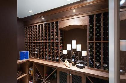 wine cellar at 3480 Mathers Avenue, West Bay, West Vancouver