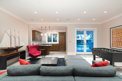 recreation room at 460 Westholme Road, West Bay, West Vancouver
