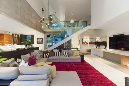 family room at 1071 Groveland Road, British Properties, West Vancouver