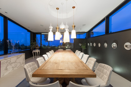 dining room at 1071 Groveland Road, British Properties, West Vancouver