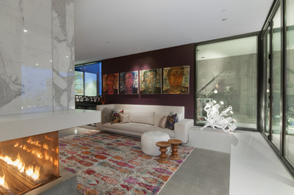 living room at 1071 Groveland Road, British Properties, West Vancouver