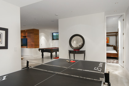 games room at 1071 Groveland Road, British Properties, West Vancouver