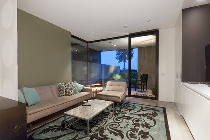 suite living room at 1071 Groveland Road, British Properties, West Vancouver