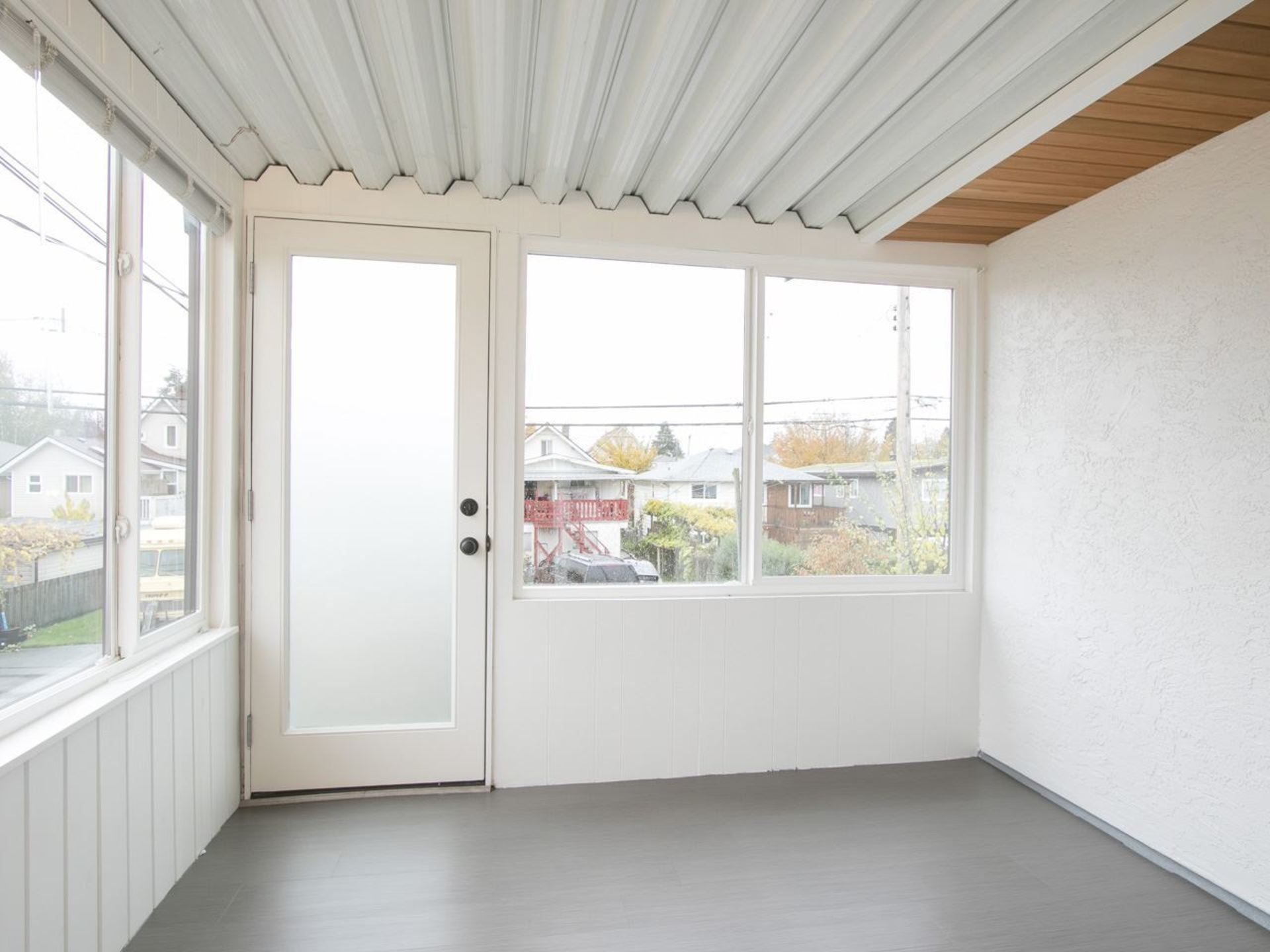 Solarium or encluded patio at 775 E 39th Avenue, Fraser VE, Vancouver East