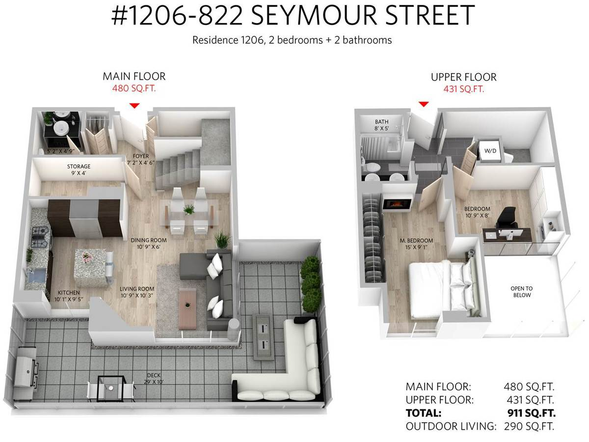 20.jpg at 1206 - 822 Seymour Street, Downtown VW, Vancouver West