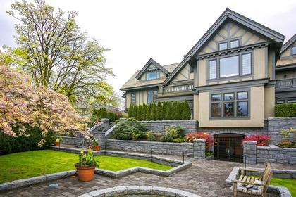 Rear at  1333 The Crescent, Shaughnessy, Vancouver West