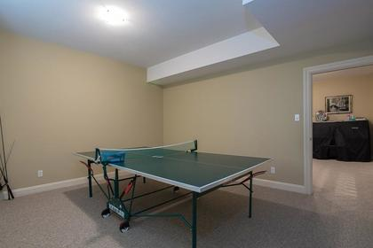 Bsmt game room at 3756 Winsford Court, Government Road, Burnaby North