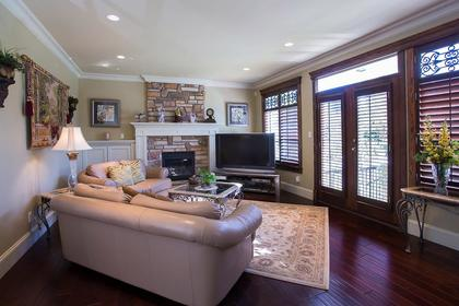 Family room at 3756 Winsford Court, Government Road, Burnaby North